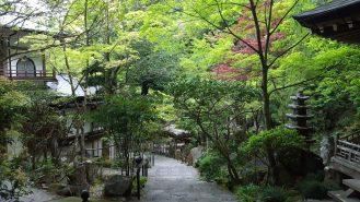 Hiroshima: a temple up a mountain near my hostel
