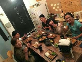 Gujo Hachiman: Dinner at Machiyado Hostel