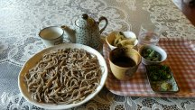 Alps region: soba noodles