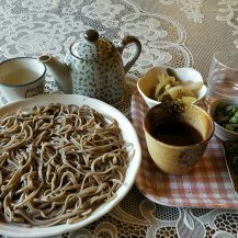 Alps region: soba noodles