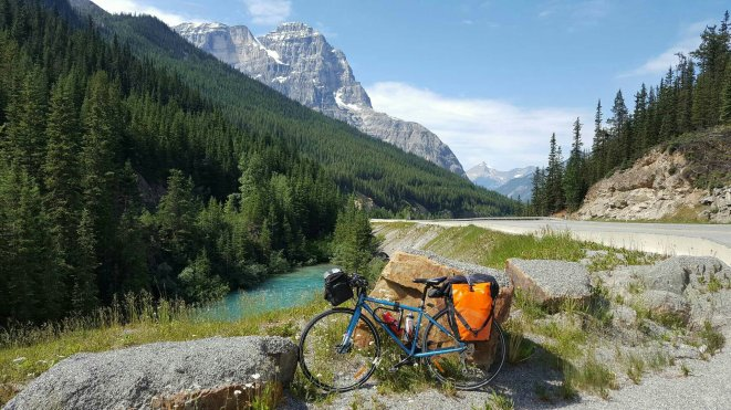 Halfway between Golden and Lake Louise