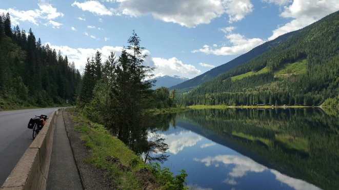 Lake Griffin on the way to Revelstoke in BC