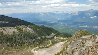 View from Kicking Horse in Golden