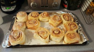 The best cinnamon buns I've ever tasted