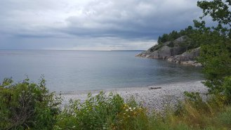 Lake Superior, view from Montreal River Harbour